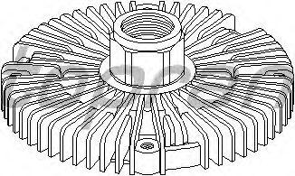 Вязкостная муфта вентилятора охлаждения TOPRAN 302 003