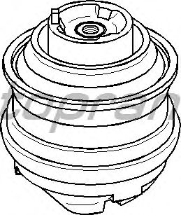 Подушка двигателя TOPRAN 400 031