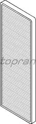Фильтр салона TOPRAN 202 699