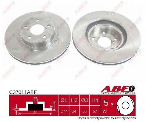 Тормозной диск ABE C37011ABE
