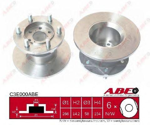 Тормозной диск ABE C3E000ABE