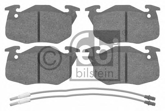 Тормозные колодки FEBI BILSTEIN 16192