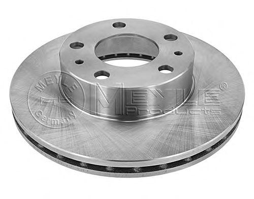 Тормозной диск MEYLE 215 521 0018