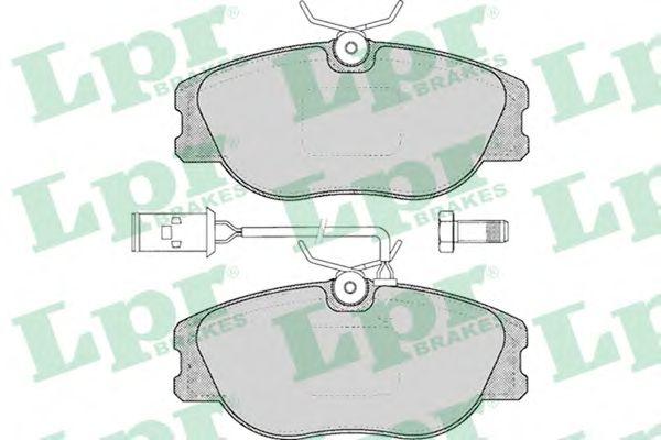 Тормозные колодки LPR 05P032