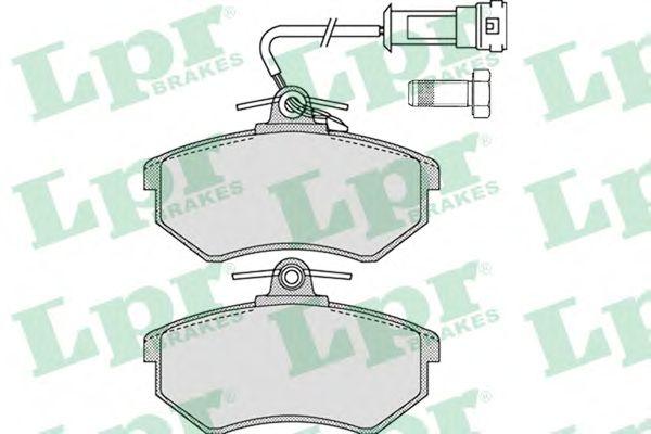Тормозные колодки LPR 05P1137