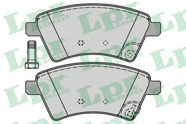 Тормозные колодки LPR 05P1245