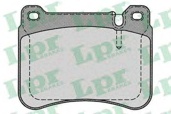 Тормозные колодки LPR 05P1276