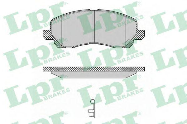 Тормозные колодки LPR 05P1347