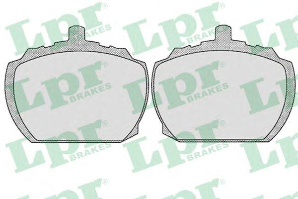 Тормозные колодки LPR 05P143