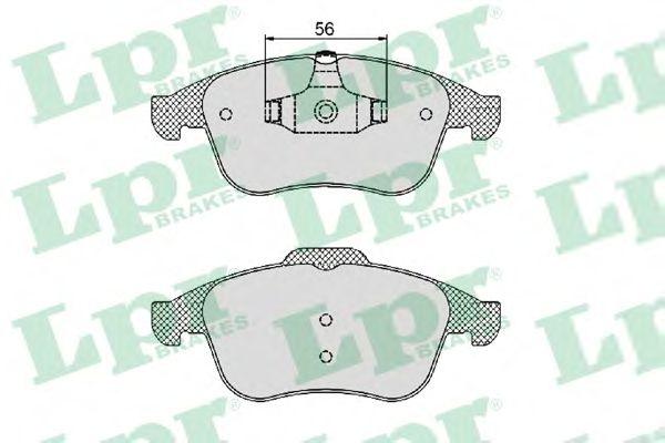 Тормозные колодки LPR 05P1466