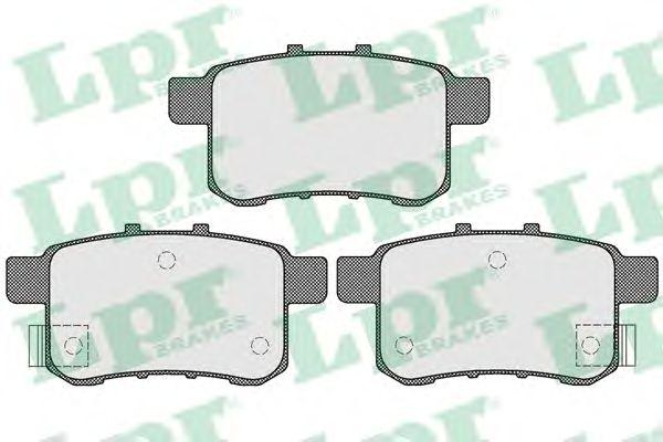 Тормозные колодки LPR 05P1569