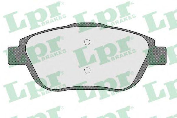 Тормозные колодки LPR 05P1590