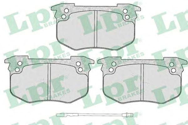 Тормозные колодки LPR 05P229