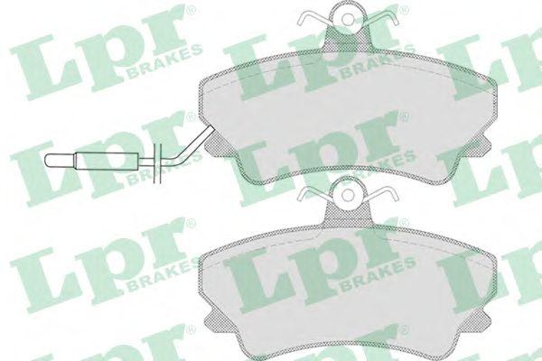 Тормозные колодки LPR 05P653