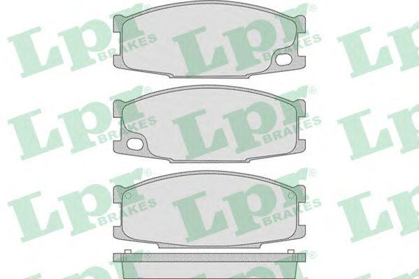 Тормозные колодки LPR 05P892