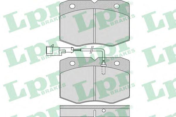 Тормозные колодки LPR 05P963