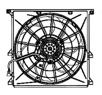 Вентилятор охлаждения NRF 47024