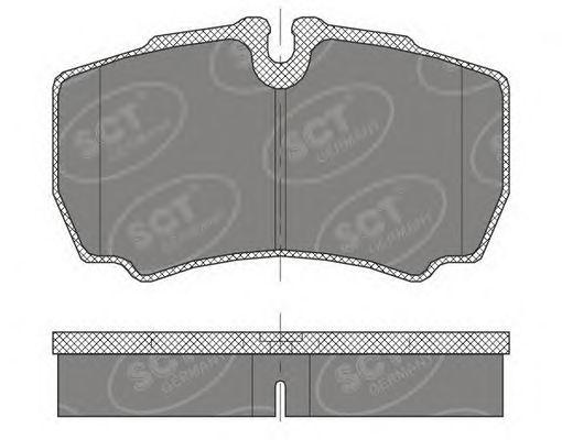 Тормозные колодки SCT Germany SP 452