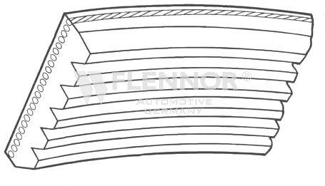 Поликлиновой ремень FLENNOR 6PK1123