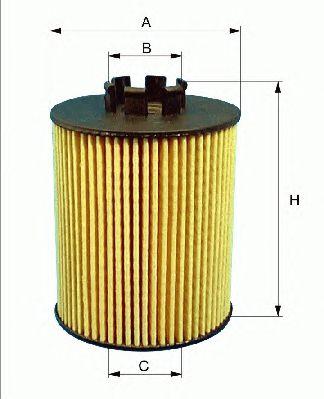 Масляный фильтр FILTRON OE672/2