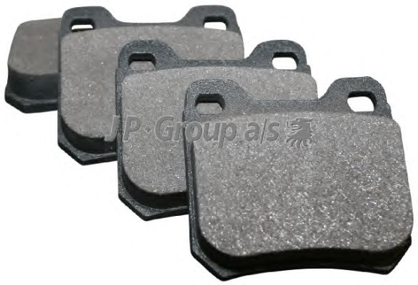 Тормозные колодки JP GROUP 1263700410