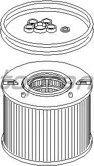 Топливный фильтр TOPRAN 111 787