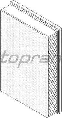 Воздушный фильтр TOPRAN 112 387