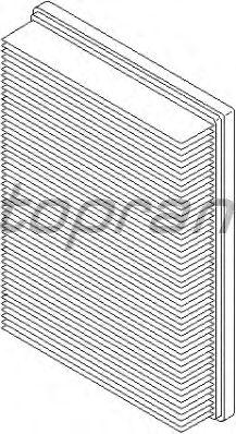 Воздушный фильтр TOPRAN 109 041