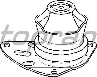Подушка двигателя TOPRAN 110 125