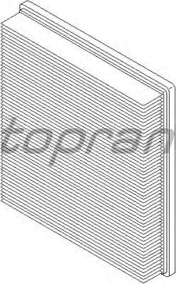 Воздушный фильтр TOPRAN 304 053