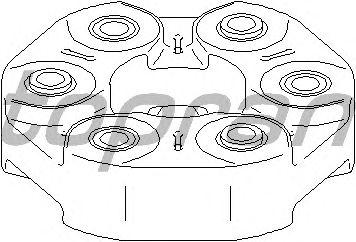 Карданный шарнир TOPRAN 114 319