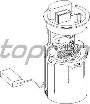 Топливный насос TOPRAN 110 877