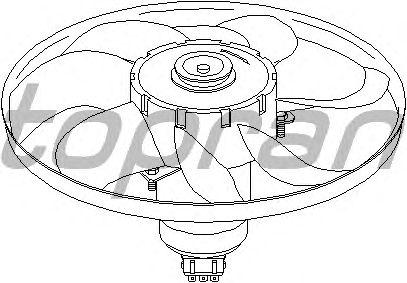 Вентилятор охлаждения TOPRAN 107 711