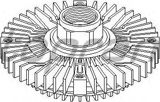 Вязкостная муфта вентилятора охлаждения TOPRAN 500 404