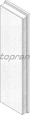 Воздушный фильтр TOPRAN 500 226