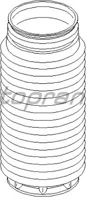 Пыльник амортизатора TOPRAN 302 210