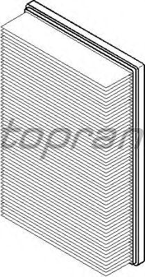 Воздушный фильтр TOPRAN 302 127