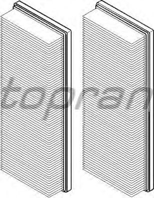 Воздушный фильтр TOPRAN 400 317
