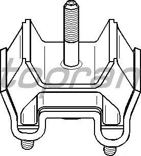 Подушка двигателя TOPRAN 401 689