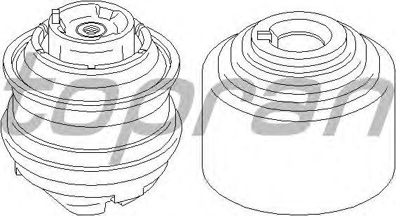 Подушка двигателя TOPRAN 401 263