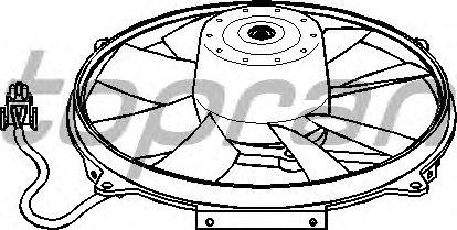 Вентилятор охлаждения TOPRAN 400 794