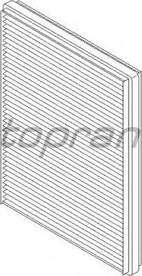 Фильтр салона TOPRAN 400 201