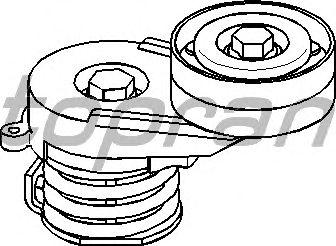 Натяжной ролик поликлинового ремня TOPRAN 206 901