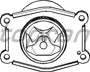 Подушка двигателя TOPRAN 207 213