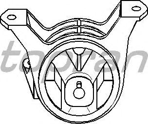 Подушка двигателя TOPRAN 206 923