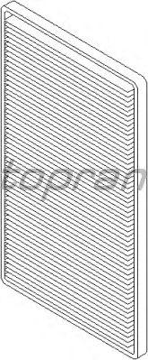 Фильтр салона TOPRAN 202 700