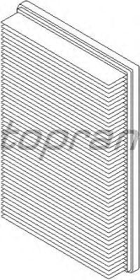 Воздушный фильтр TOPRAN 206 054