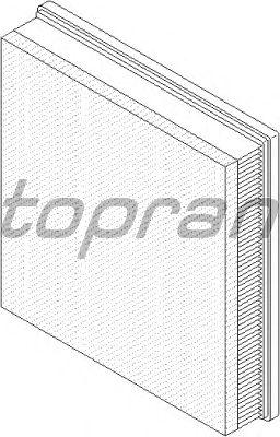 Воздушный фильтр TOPRAN 207 034