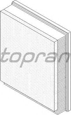 Воздушный фильтр TOPRAN 207 542