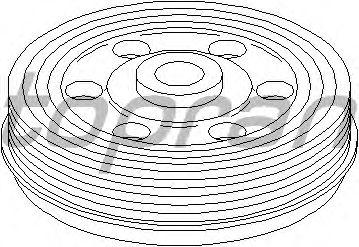Гидравлический натяжитель ремня TOPRAN 721 970